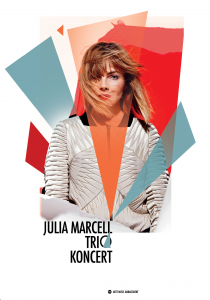 Julia Marcell - Plakat koncertowy trio