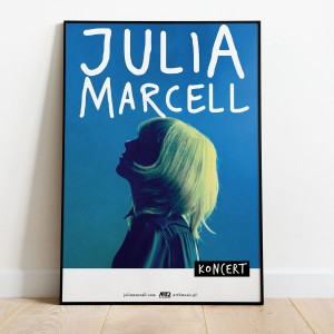 Julia Marcell - Plakat koncertowy
